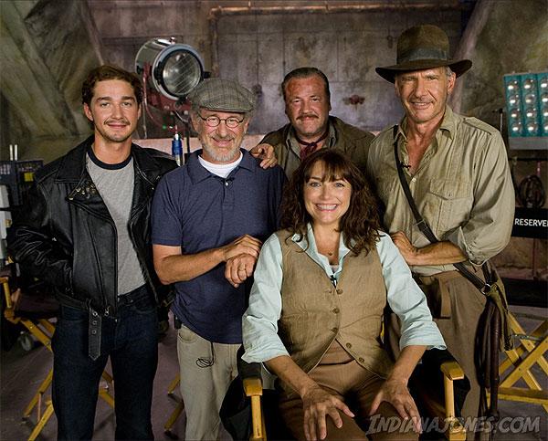 The Cast of Indiana Jones