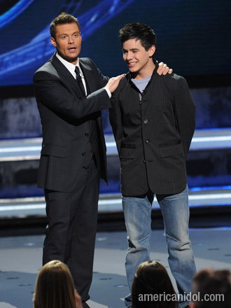 Ryan Seacrest and David Archuleta