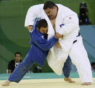 """Guam's """"Little Mountain"""" Lost Olympic Judo Competition by"""