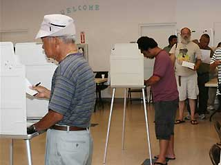 Voting on Guam