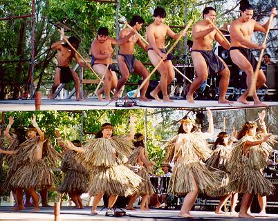 Guam Chamorro Dancers