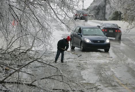 Hard Winter in Paducah, Kentucky