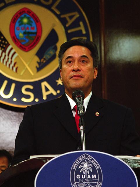 Guam Governor Felix Camacho