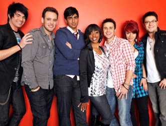 American Idol Top 7 ( Photo Courtesy of ACESHOWBIZ)