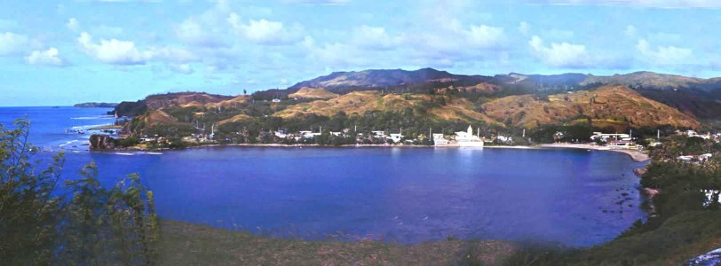 Umatac Bay, Guam Where Explorer Ferdinand Magellan Landed