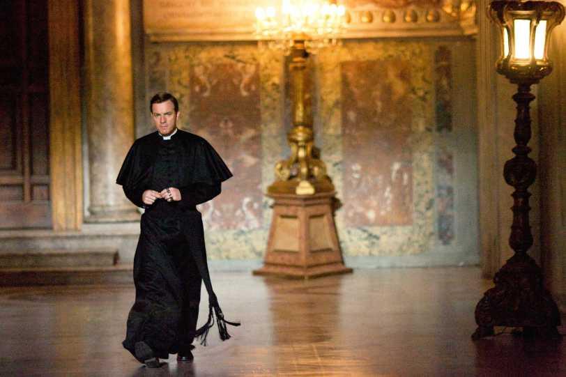 "Ewan McGregor in Columbia Pictures' suspense thriller ""Angels & Demons,"" starring Tom Hanks."
