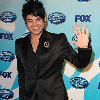 Superstar Adam Lambert Photo: Merritt/Getty
