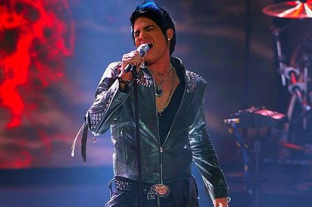 Adam Lambert Rocks Out