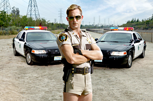 Reno 911's Jim Dangle ( Ian White/Comedy/Central)
