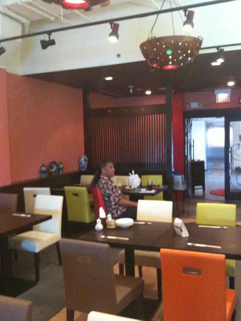 Frank Toves at Gyoza Yotai Restaurant