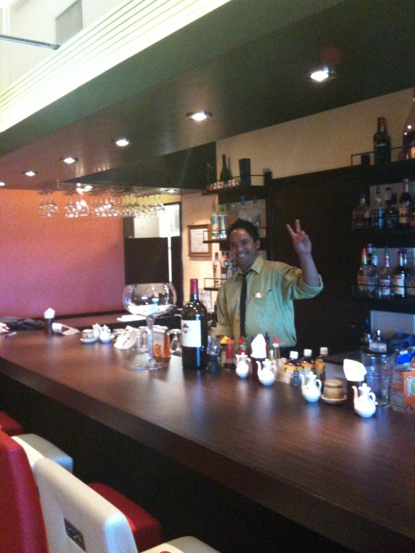 The Bar at Gyoza Yatai Restaurant