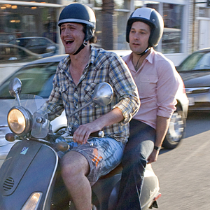 Jason Segel and Paul Rudd in I Love You Man