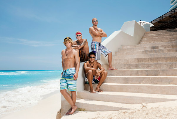 The Men of Real World Cancun