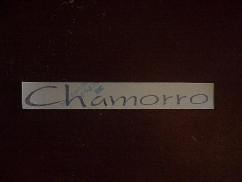 Chamorro Sticker