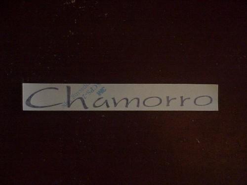 Chamorro Sticker