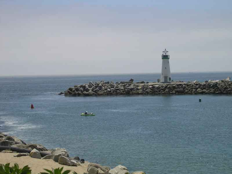 Santa Cruz Harbor Entrance