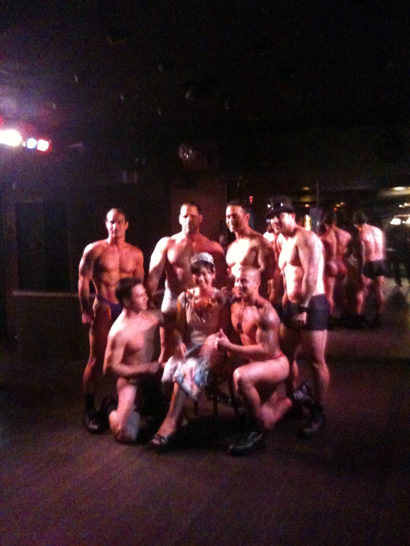 A Girl Celebrating with Male Strippers the Day Before Her Wedding