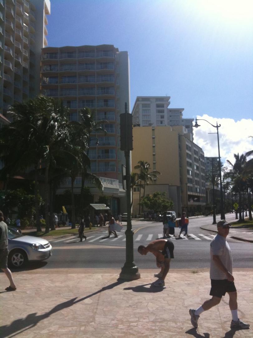 By Waikiki Beach