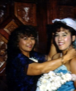 Mom and Michelle on their wedding day