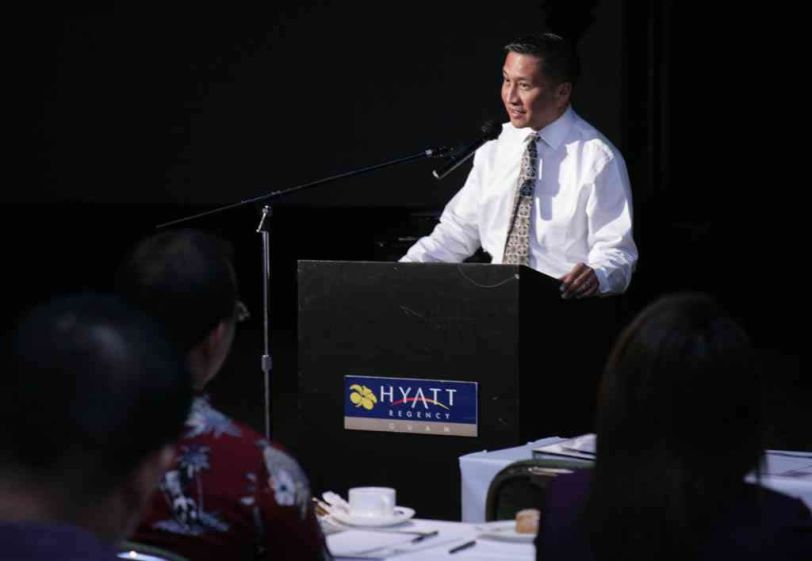 Lt. Governor Mike Cruz of Guam