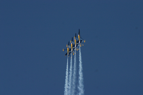 Blue Angels Fleet Week 2009 San Francisco