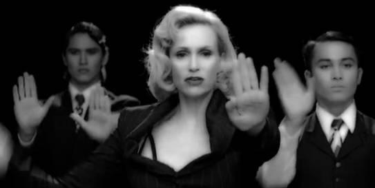 Sue Sylvester as Madonna