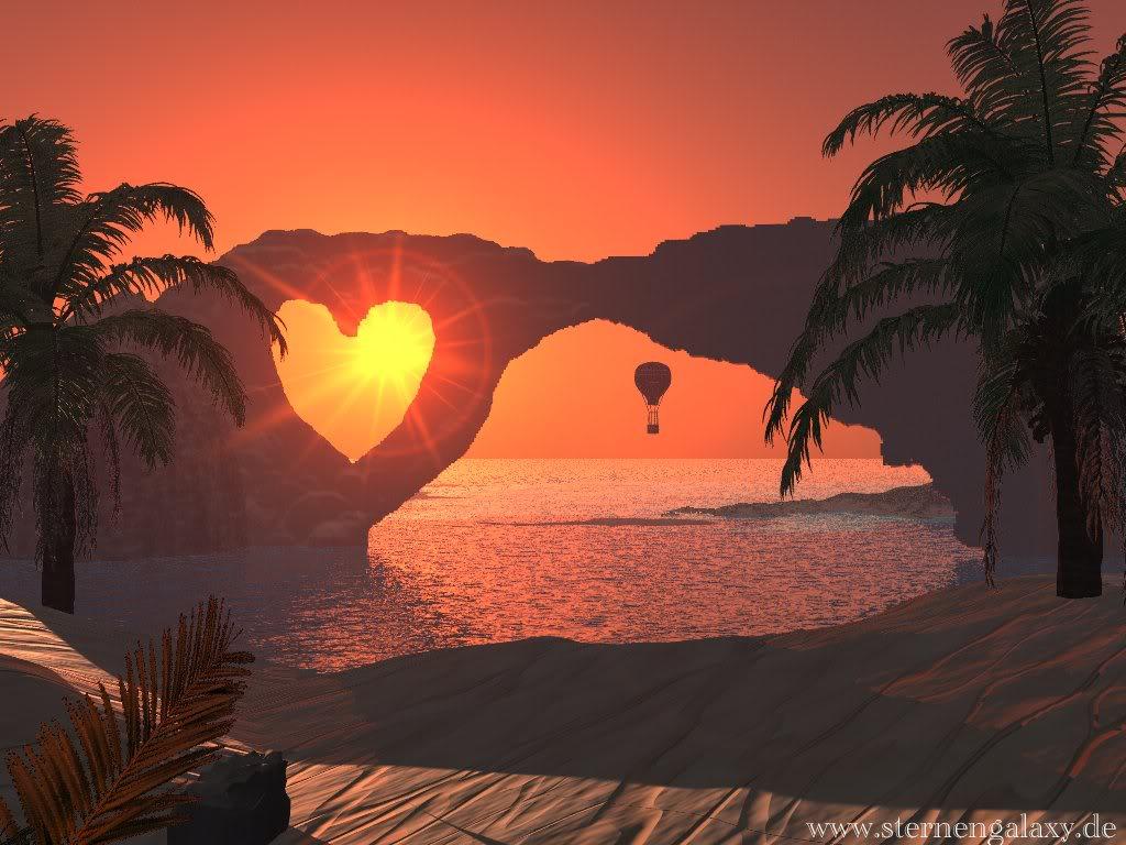 beach moments heart love - photo #8