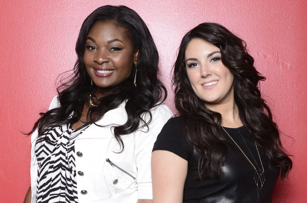 American Idol Season 12 finalists Candace Glover and Kree Harrison