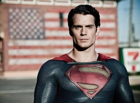 Henry Cavill as Man of Steel