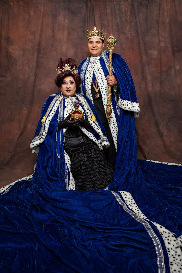 Grand Duchess Paloma Volare St. James and Grand Duke Moses Garcia