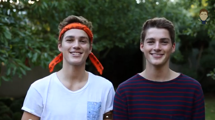 Twin Borthers Finn and Jack Harries