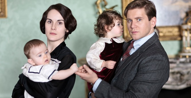 Michelle Dockery and Allen Leech from Downton Abbey