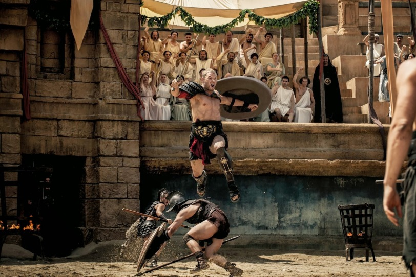 Fight scene from the Legend of Hercules with Kellan Lutz