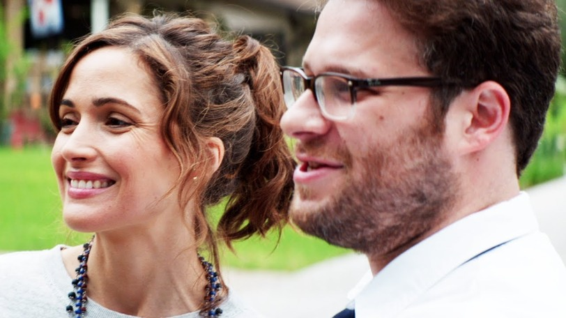 Rose Byrne and Seth Rogen in Neighbors