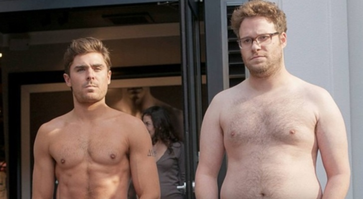 Zac Efron and Seth Rogen in Neighbors