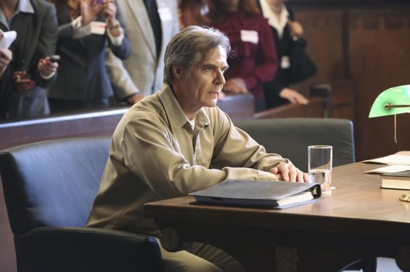 Conrad Grayson ( Henry Czerny) faces the consequences of his crimes.  (ABC/Adam Taylor)