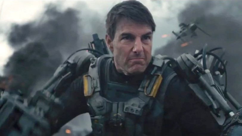 Tom Cruise in The Edge of Tomorrow