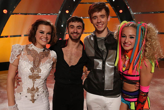 L-R Valerie Rockey, Ricky Ubeda, Zach Everhart, Jessica Richens So You Think You Can Dance' Fox