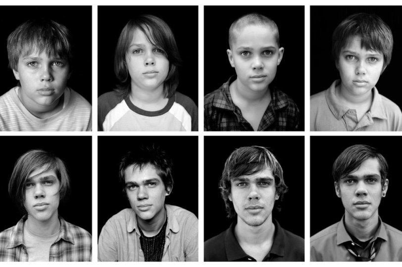 Ellar Coltrane through the years as Mason in Boyhood