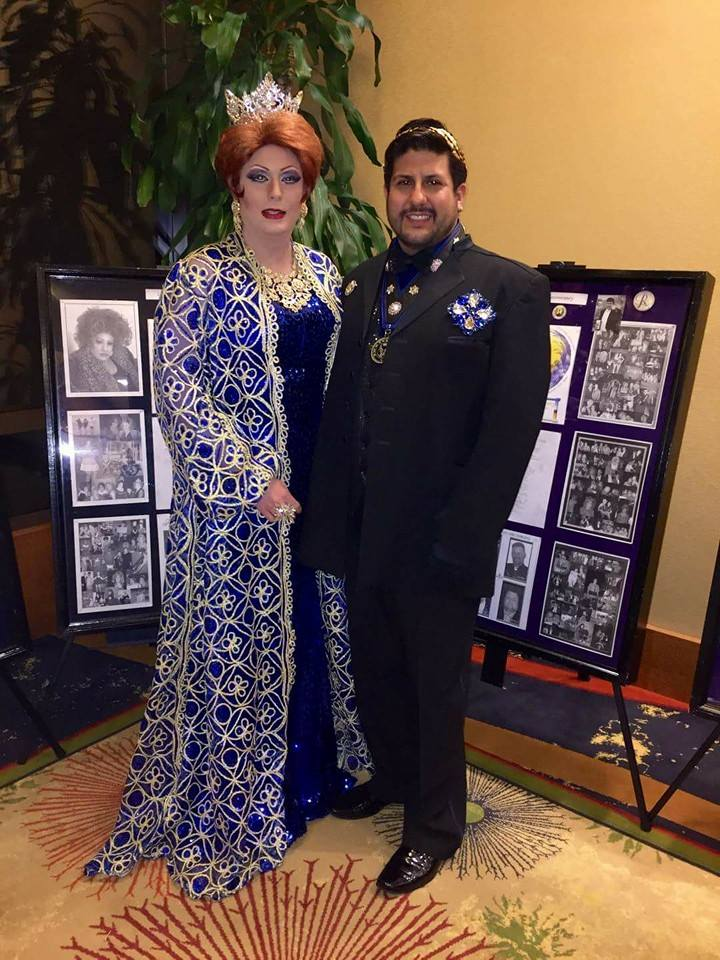 Their Majesties, Empress Misty Blue and Emperor John Paul Soto